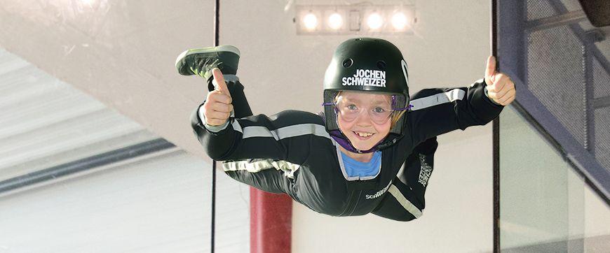 Erlebnisse für Kinder in der Jochen Schweizer Arena
