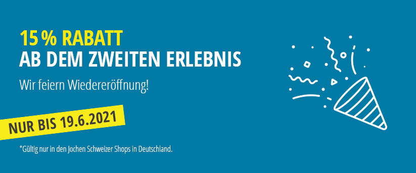 Unsere Filialen - Die Jochen Schweizer Shops