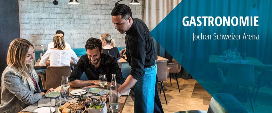 Gastronomie in der Jochen Schweizer Arena München