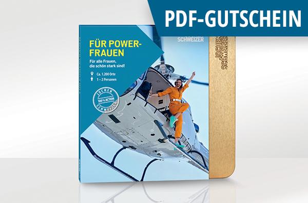 Erlebnis-Box 'Für Powerfrauen' als PDF