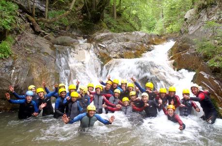 Actioncamps Canyoning Outdoor-Erlebnisse und Survivaltraining - Tickets finden und buchen
