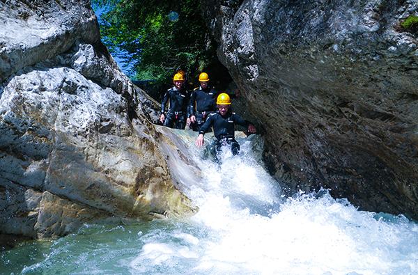 Einsteiger Canyoning Tour Kiefersfelden (3 Stunden)