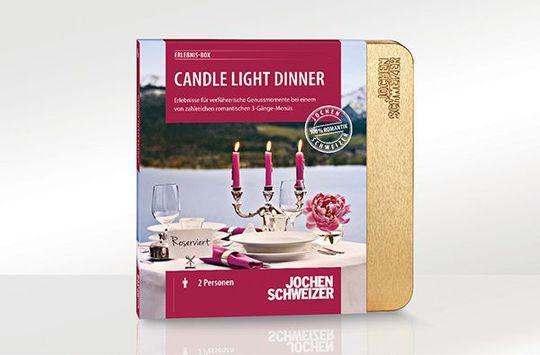 Erlebnis-Box ''Candle-Light-Dinner für 2'