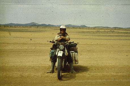 Motorradtour durch Afrika (1979)
