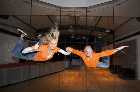Bodyflying im Windtunnel Bottrop