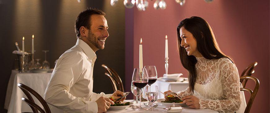 Romantische Dinner