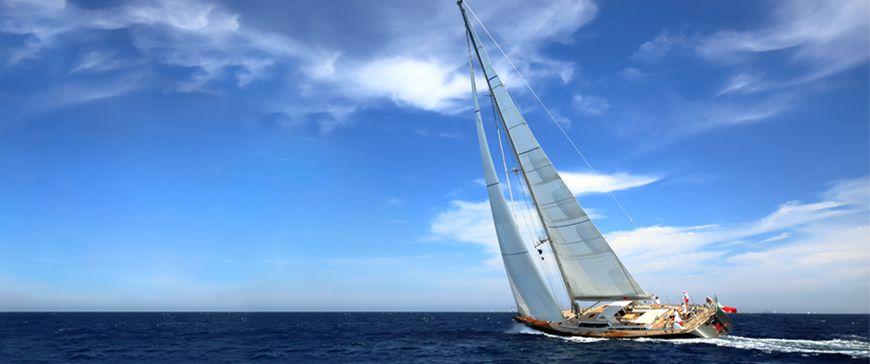 Yacht fahren