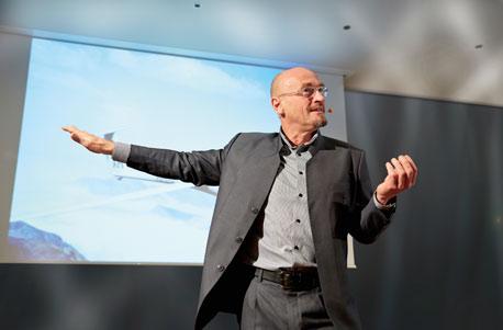 Jochen Schweizer als Redner