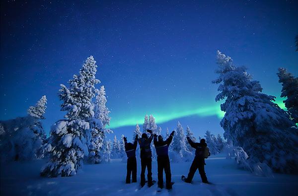 Nordlichter Kurzurlaub Lappland für 2 (3 Nächte)