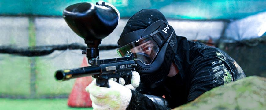 Paintball spielen in Frankfurt
