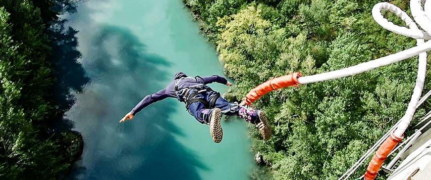Bungee Jumping in Kärnten