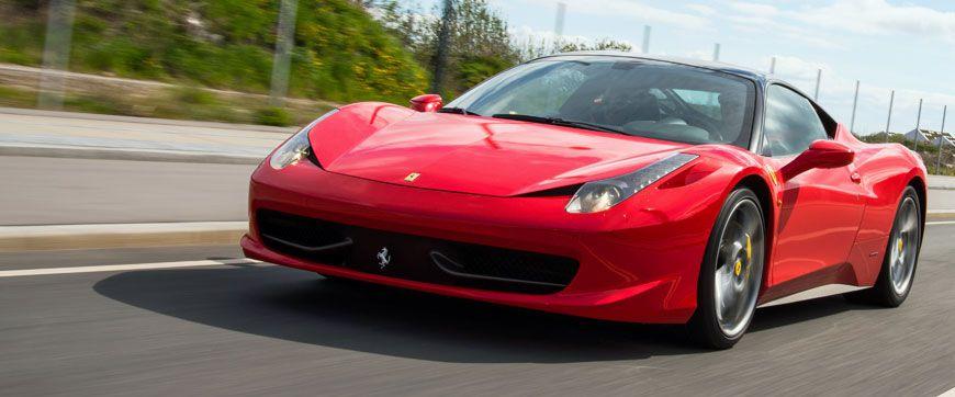 Ferrari mieten Frankfurt