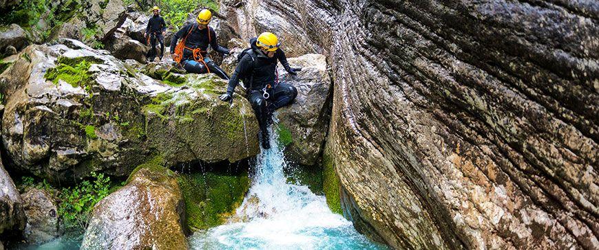 Canyoning in Garmisch